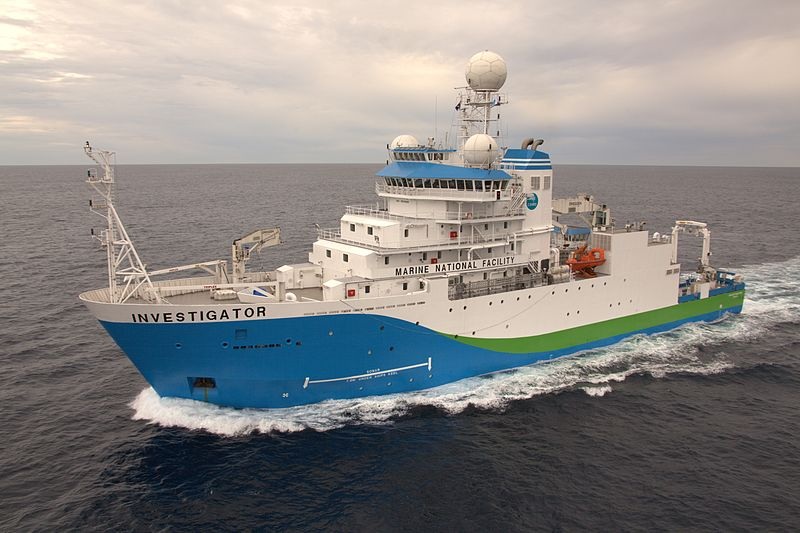 CSIRO Research Vessel Investigator