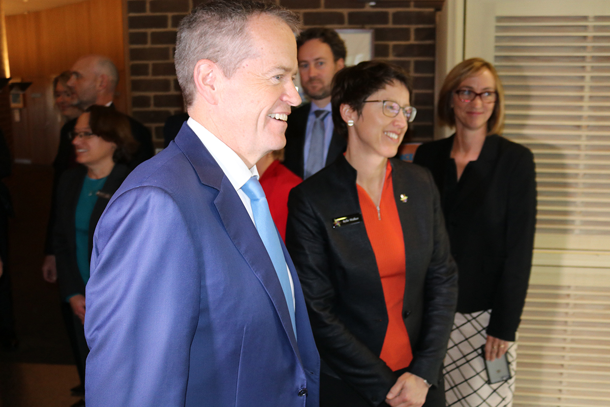 20170817 – NRIA meeting Shorten and Kylie