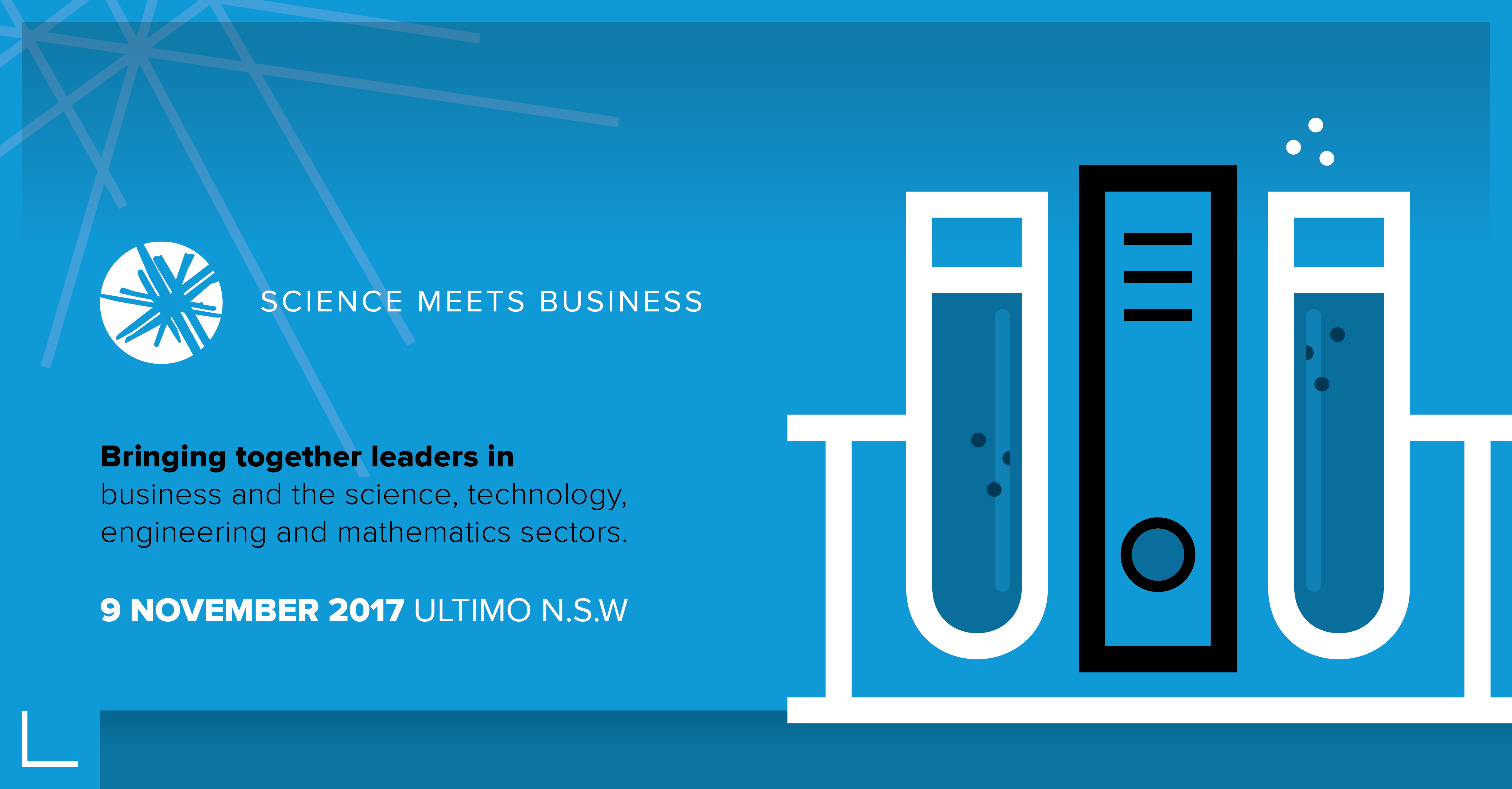 Science meets Business banner