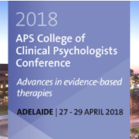 2018 APS Clinical Psych Conference