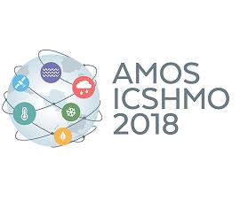 AMOS-ICSHMO 2018 logo