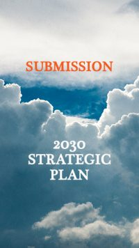 2030 Strategic Plan submission
