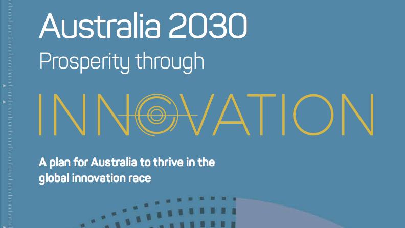 Australia 2030 title page