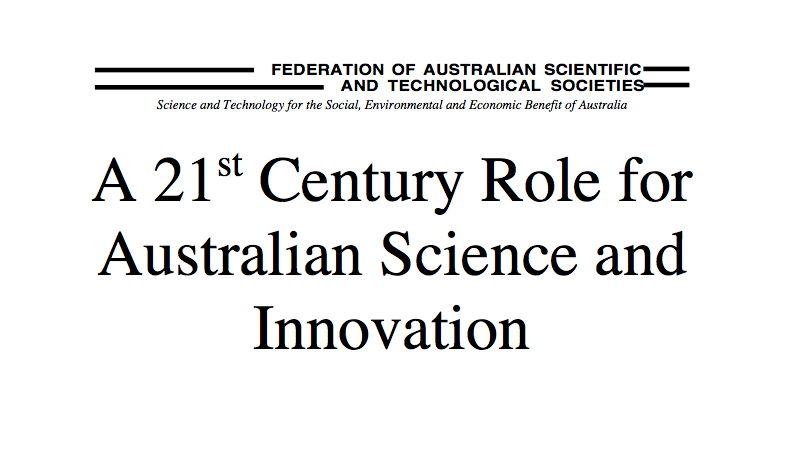 21st century role for science