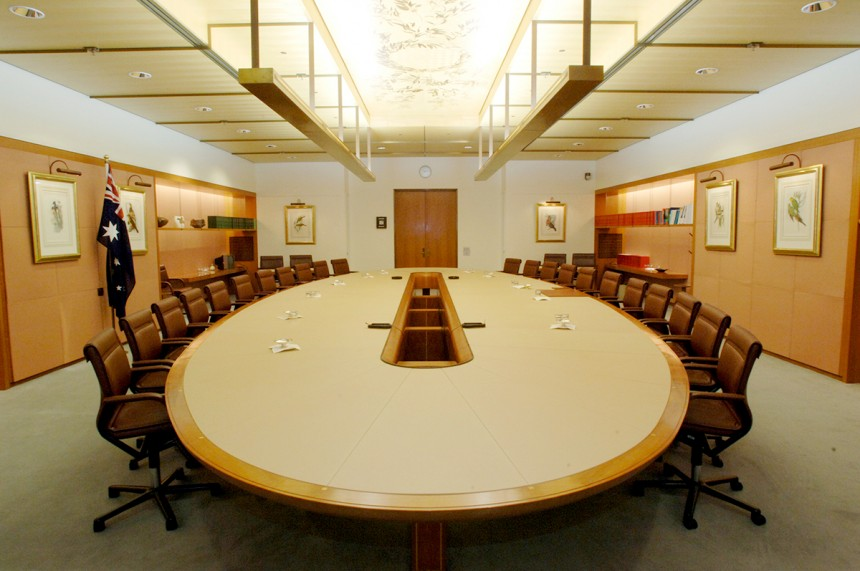 Australian Parliamentary Cabinet Table