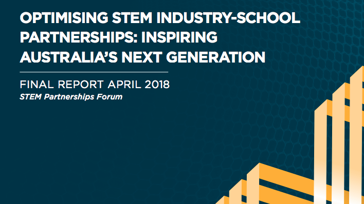 cover of STEM report