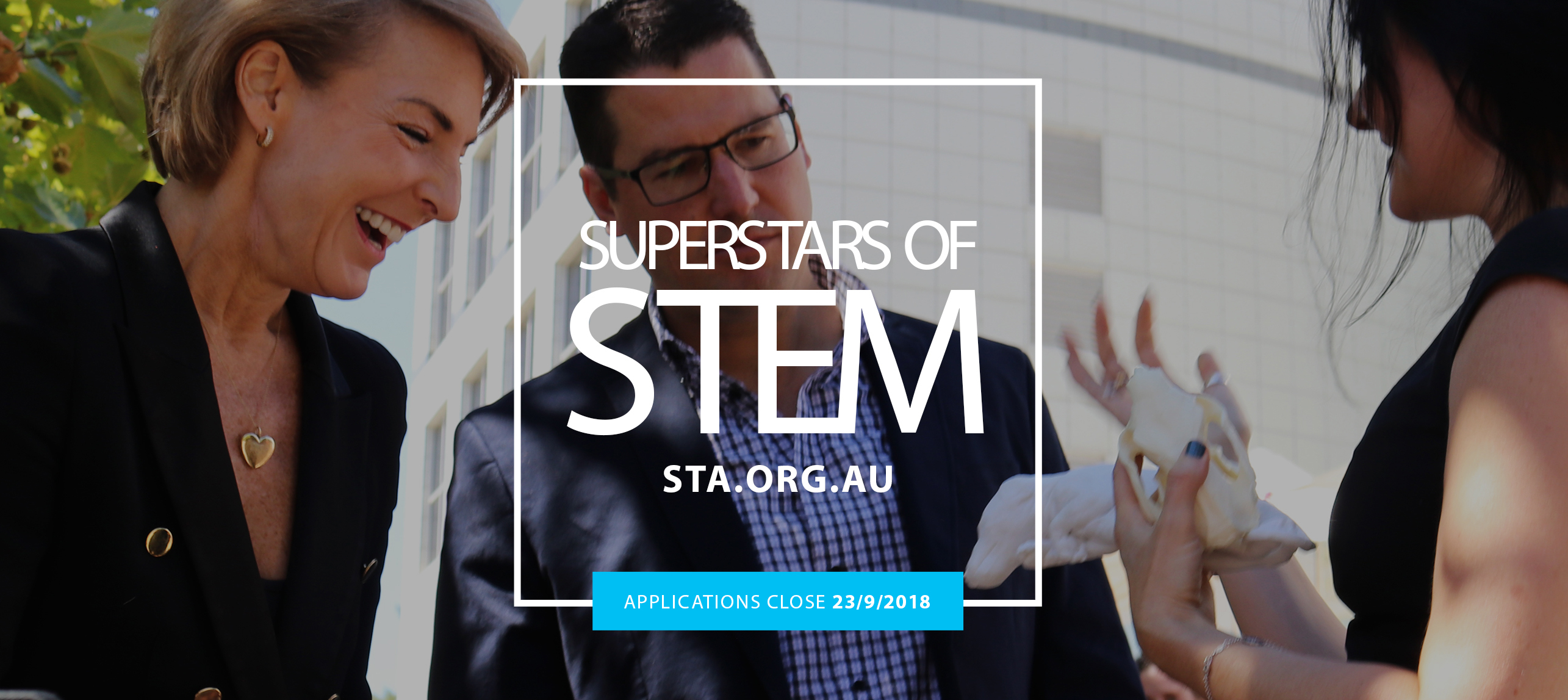 Superstars of STEM banner, applications close 23 September