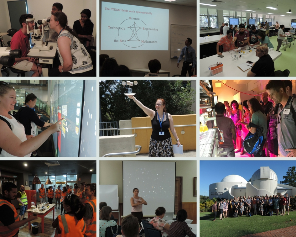 collage of images from previous teach summits