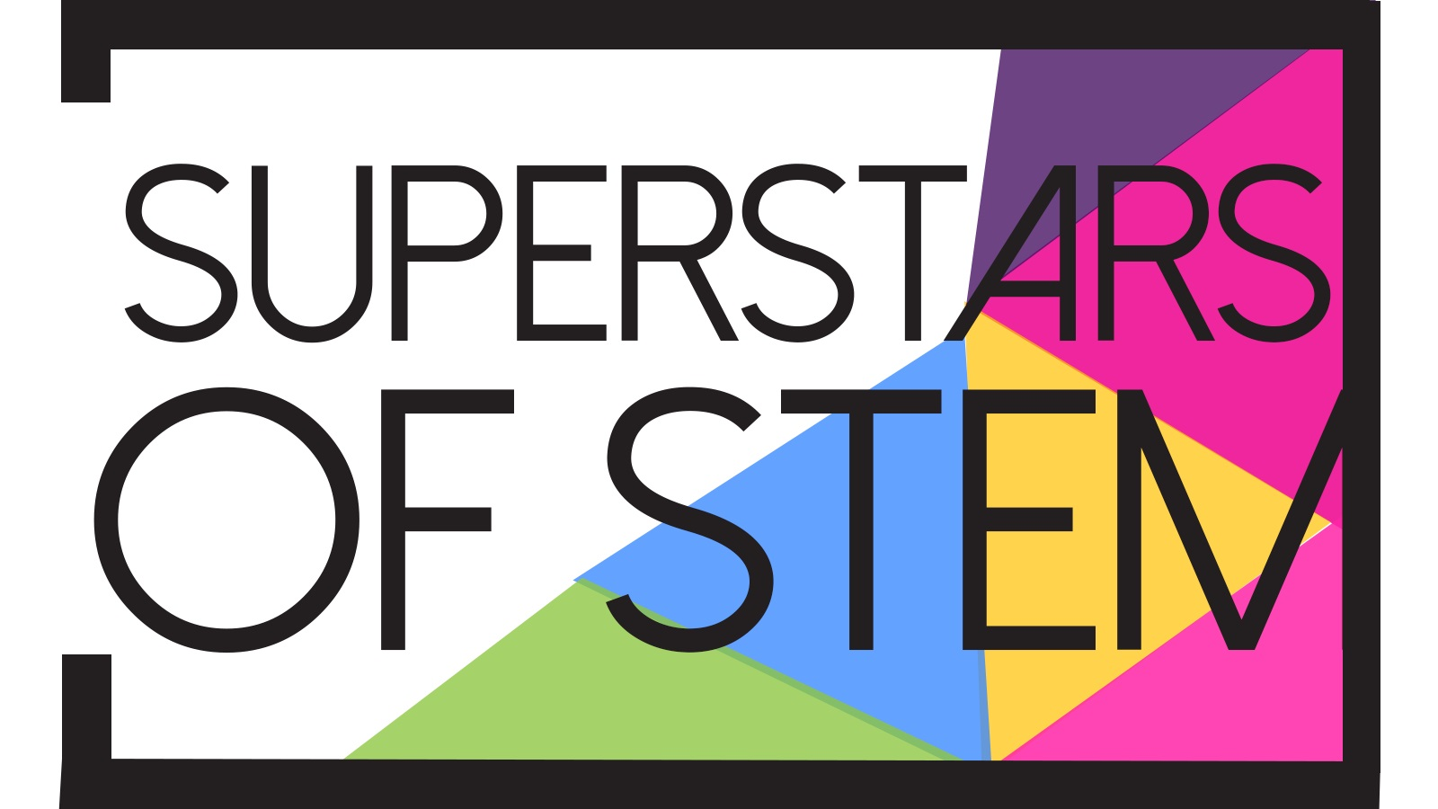Superstars of STEM - text logo black