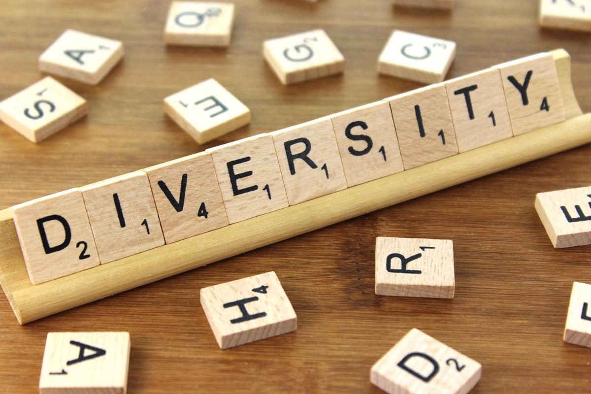 diversity spelt in scrabble letters