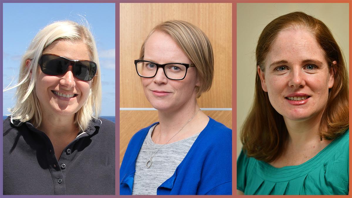 STA Board members Rachel Przeslawski, Karen Gregory & Kathy Nicholson.